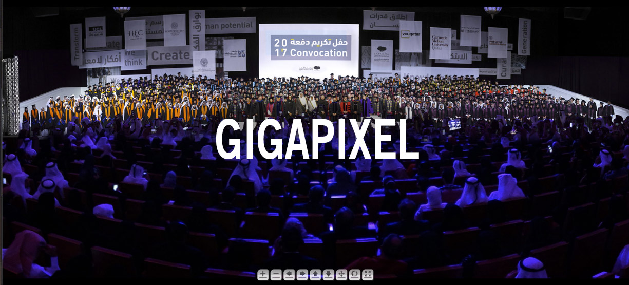 Gigapixel Convocation Doha